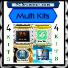 Multi Kits  4 drum kits in 1 package - see more information